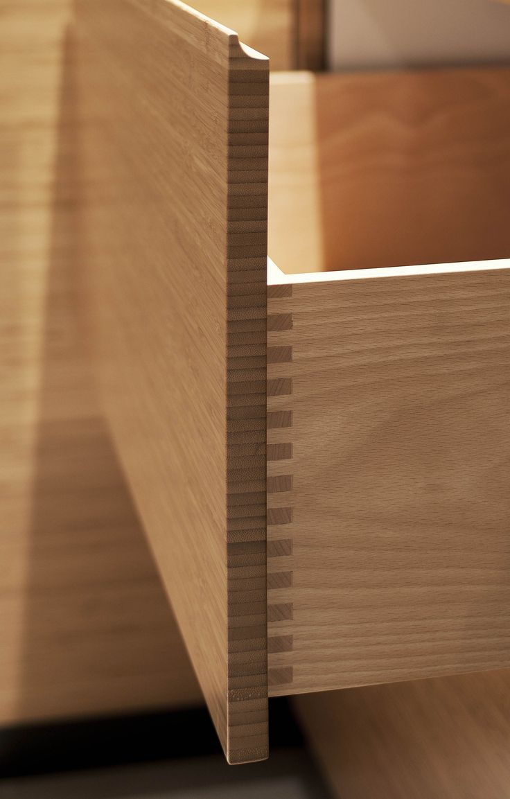 Drawer detail by ADK Cabinetworks