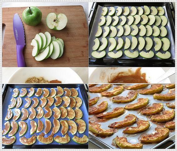 ballı tarçınlı elma dilimleri tarifi
