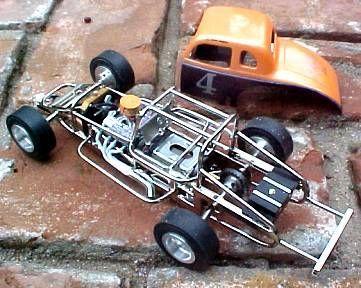 '36 Plymouth Modified at Professor Motor Slot Car Racing and SlotCars