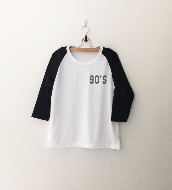90s Shirt Tumblr Pocket Tee Shirts Teen Hipster by CozyGal on Etsy