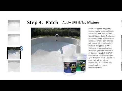 Step By Step Swimming Pool Repair Fiberglass Inground