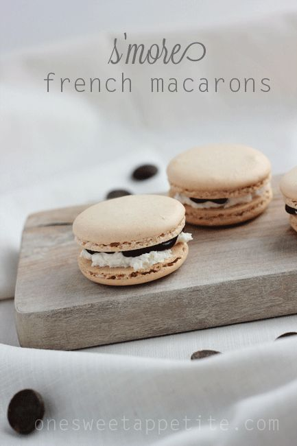 Ghirardelli S'more French Macarons - Easy To Make Family Recipes | One Sweet Appetite