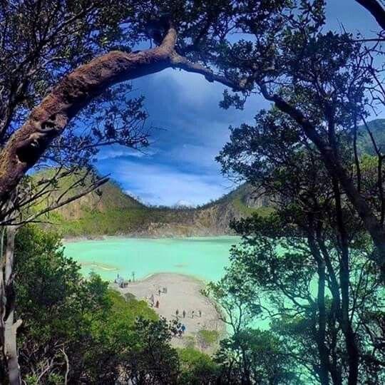 Kawah Putih (White Crater) Ciwidey Bandung, West Java