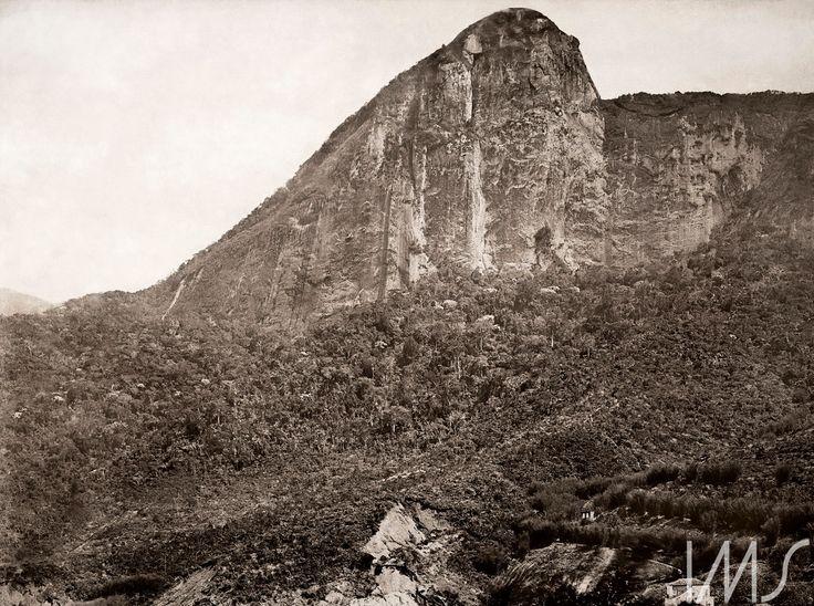 Georges Leuzinger - 1865 - Corcovado visto da Lagoa