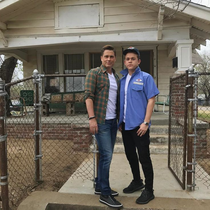 Rob Lowe Toured 'The Outsiders' House on His 53rd Birthday - Us Weekly