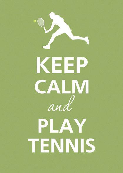 Tennis tennis tennis. Vanaf mijn 10de heb ik getennist vrije tijd en in competitieverband.