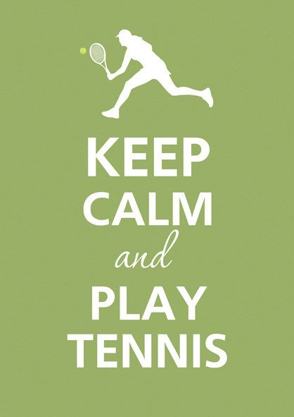 Tennis tennis tennis <3