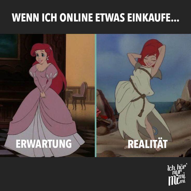 Wenn ich online etwas einkaufe... Erwartung vs. Realität