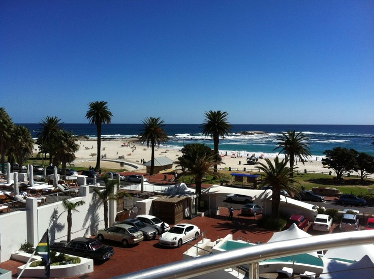 View from The Bay Hotel, Camps Bay Beach