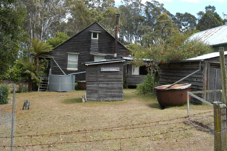 Davis whaling station Twofold Bay Eden, NSW, Australia, Ceased operation 1929.  The Davis homestead,
