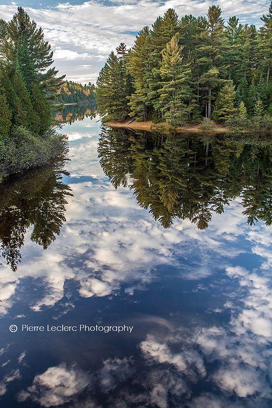 Wilderness reflection - La Mauricie National Park, Quebec, Canada