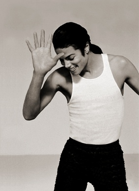 Michael Jackson by Herb Ritts