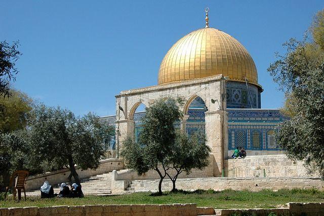 Jerusalén, Cúpula De La Roca, Israel, Monte Del Templo