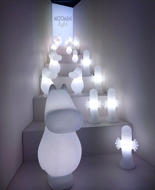 We are really excited about these new Moomin Lights by Feelis Helsinki. Not only are these the first of their kind, but the lights are designed in cooperation with renowned designer Harri Koskinen and produced with the highest standards in mind. You will not find a better, cuter or more high-quality Moomin lamp anywhere!