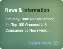 Sustainability News and Information on Kimberly - Clark. #gscertified #green #sustainable #ecofriendly