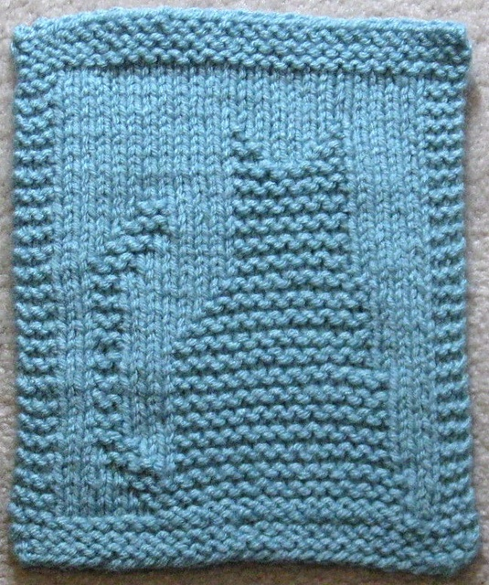 11 Best Knitted Squares Images On Pinterest Knitting Patterns