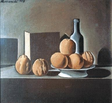 Metaphysical Still Life with Triangle - Giorgio Morandi - WikiPaintings.org