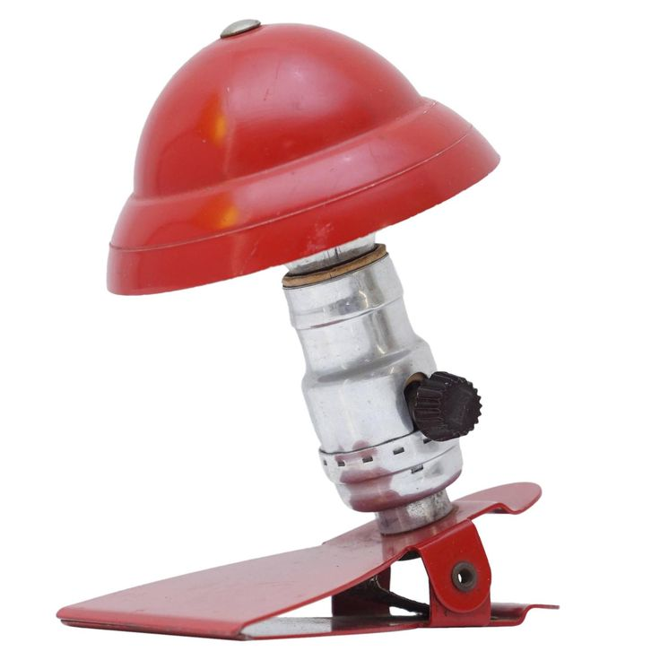 Vintage Clip-On Desk Lamp | From a unique collection of antique and modern more lighting at https://www.1stdibs.com/furniture/lighting/decorative-lighting-lamps/