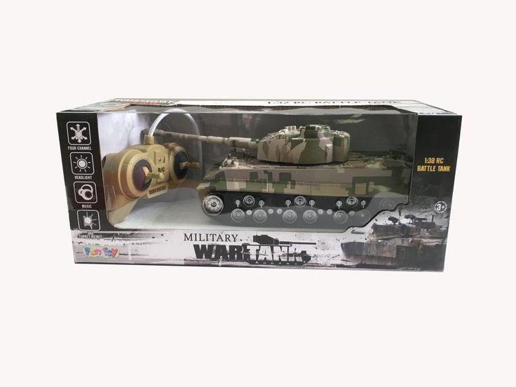Радиоуправляемые танки - это масса адреналина и удовольствия. А танковый бой на радиоуправлении - это двойной адреналин! Выполнены танки из прочного материала и долгое время смогут радовать увлекательной игрой и взрослых и детей. Игрушечные радиоуправляемые танки имеют радиус вращения на 360 градусов! Это маневренная и достаточно легко управляемая техника в руках умелого танкиста.   Управление Танком 44416 Fun Toy простое!  Пульт управления работает от 2-х батареек типа АА (в комплект не…