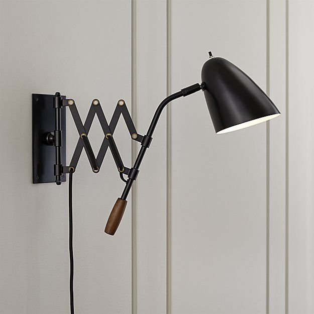 crate and barrel lighting fixtures. morgan black sconce crate and barrel lighting fixtures