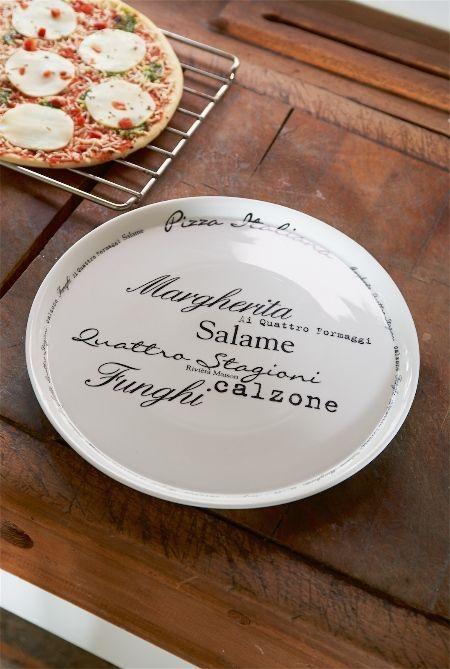 Pizza Italiana Plate