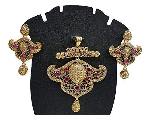 Pink Stone Indian Bollywood Gold Plated CZ Traditional Et... https://www.amazon.ca/dp/B06X9VX4ZJ/ref=cm_sw_r_pi_dp_x_i1uSybGG15FYQ