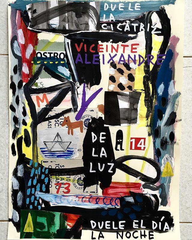 #vitt #vittorinocurci #arte #artecontemporanea #art #contemporaryart #artcontemporain #artbrut #outsiderart #primitiveart #vicentealeixandre #poem #poetry #poesia #stookatzart #expressionism #newexpressionism #expressionismus