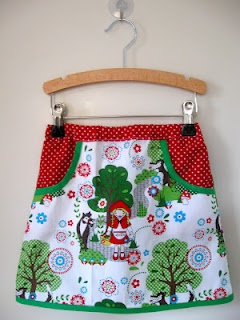 Milkmaid skirt. This one's by Ladybug & Co