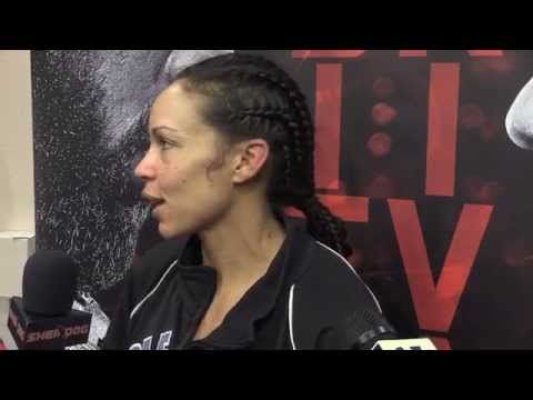 UFC 182 Video: Marion Reneau Talks About Her Domination of Alexis Dufresne |