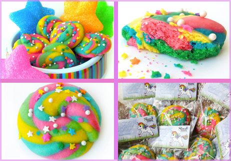 How to Make Unicorn Poop Cookies (from Sweet Insanity). @Stacy London shared with Anderson on the show today!