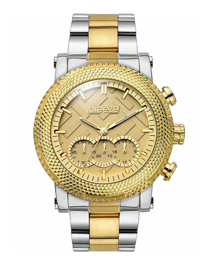 Ρολόι BREEZE Golden Crust Two-Tone 710281.2