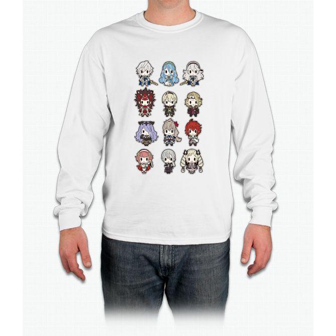 Fire Emblem Fates Corrin Inspired Long-Sleeved Shirt ZLOXYDe