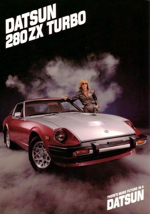 """Datsun 280ZX Turbo, """"There's More Future in a Datsun"""""""