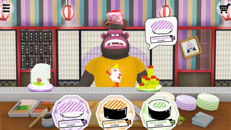 Fun Kitchen and Cooking To fu oh Sushi, Learn How to Make Sushi, Kids Games