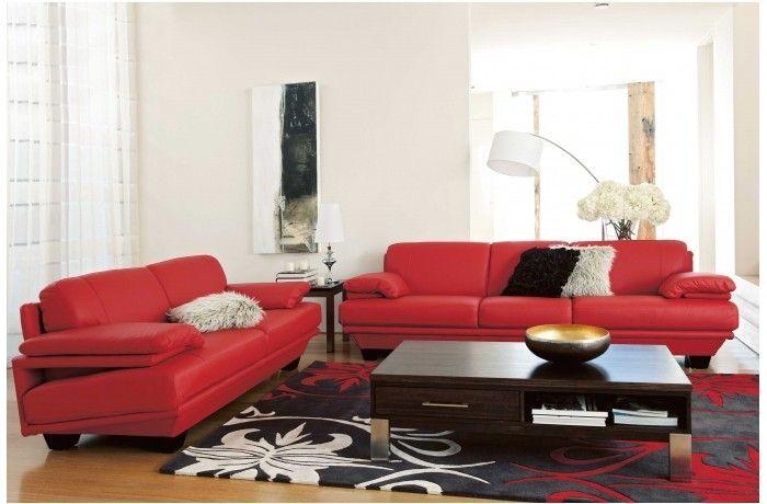 Katya 3 Seater Leather Sofa