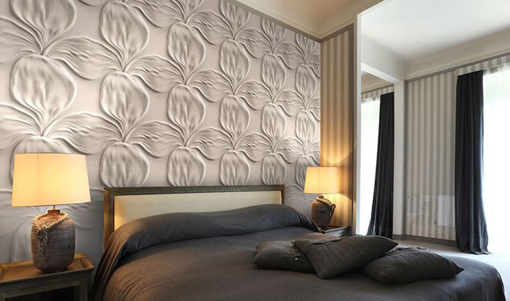foorni.pl | Kwiat / Artpanel / panel dekoracyjny 3D / panel dekoracyjny 3D w sypialni