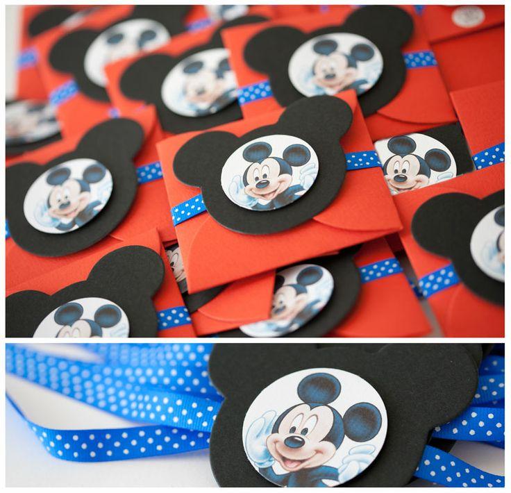 Invitaciones Mickey