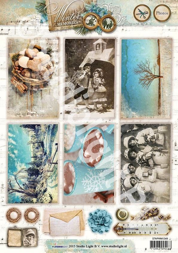 Studio Light serie:  ---Winter Memories---  Photos