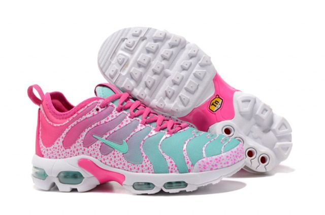 buy popular 64213 4b9bc New style Nike Air Max Plus TN Ultra Sneakers Light Jade Pink Women s  Running Shoes 881560 438 - NikeMaxZone.com