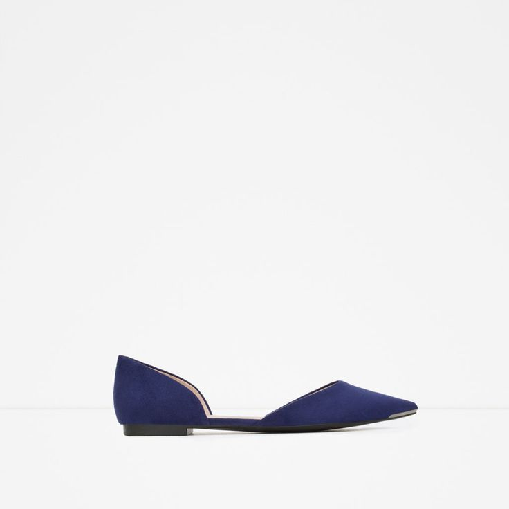 D'ORSAY SHOES WITH METAL DETAIL-View all-Shoes-WOMAN | ZARA United States