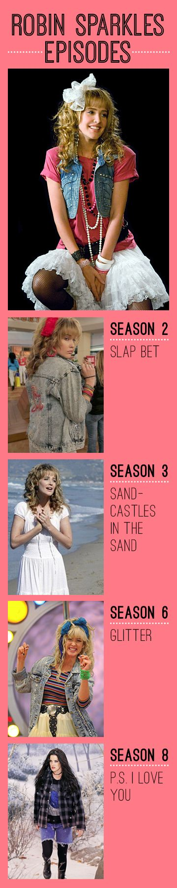 Robin Sparkles How I Met Your Mother  #himym