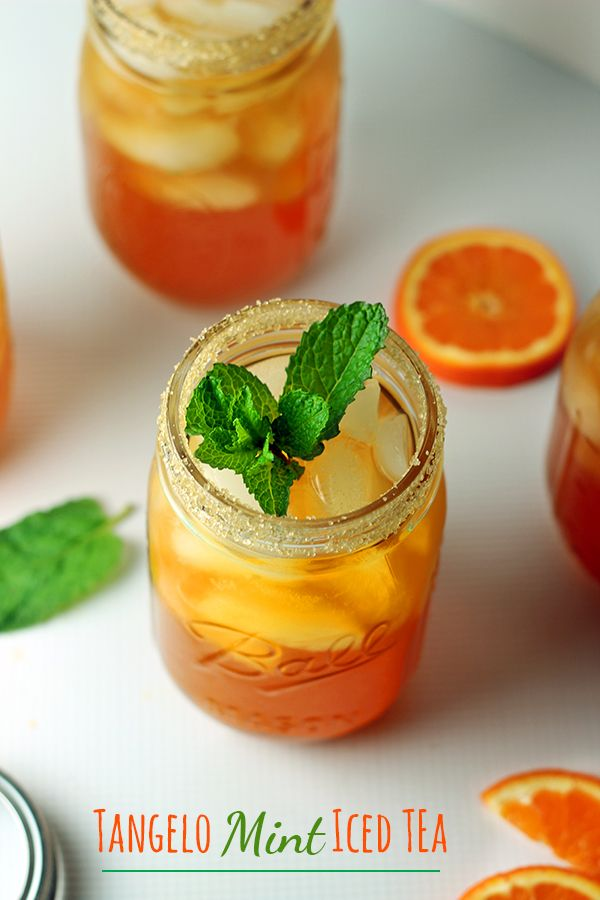 Mint Iced Tea | Recipe | Mint Iced Tea, Iced Tea and Tea Recipes