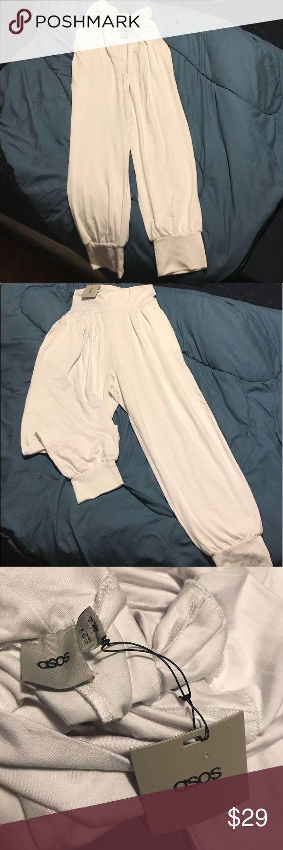 Asos Harem Pants Asos White Harem Pants. It is summer time, white pants season! ASOS Pants Wide Leg