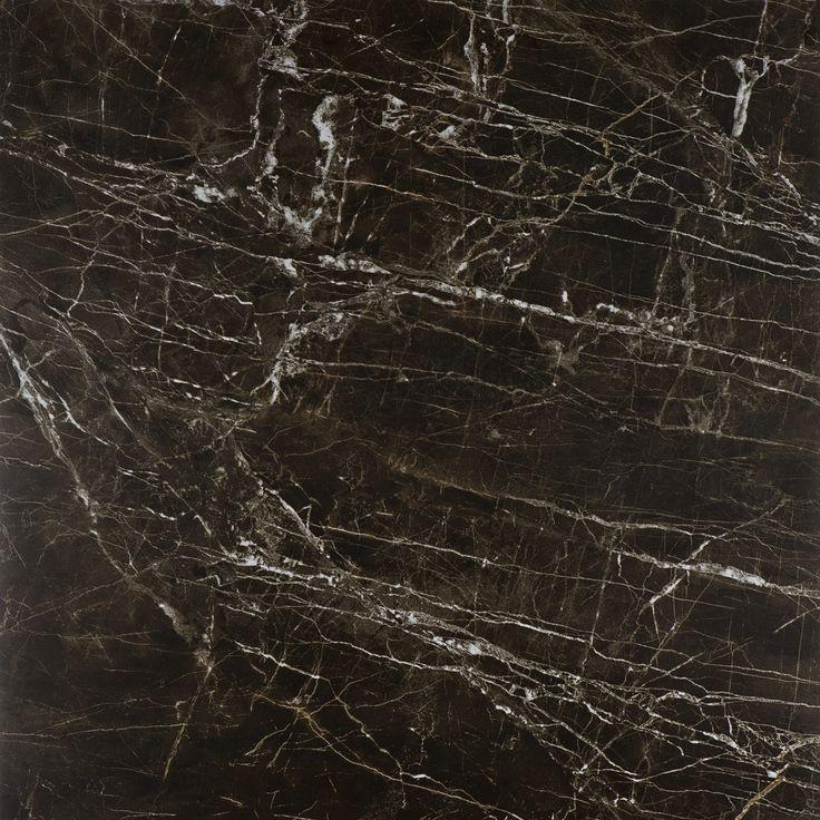 #Bricmate M66 Noir St. Laurent 60x60. Marmorinspirerad granitkeramik med härlig variation. Sammetslen yta likt en slipad marmor.