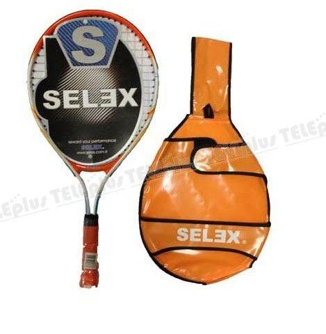 """Selex Star 21inch Tenis Raketi - Materyali: Alüminyum  Kafa Ölçüsü: 82""""  Ağırlık: 205 GR  Balans: 27 CM  Uzunluk: 53 CM - Price : TL59.00. Buy now at http://www.teleplus.com.tr/index.php/selex-star-21inch-tenis-raketi.html"""