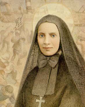 Frances Xavier Cabrini (Mother Cabrini) came to work in the United States to help the many Italian immigrants in New York City. She founded schools, hospitals and orphanages in New York, across the U.S. and in South America.