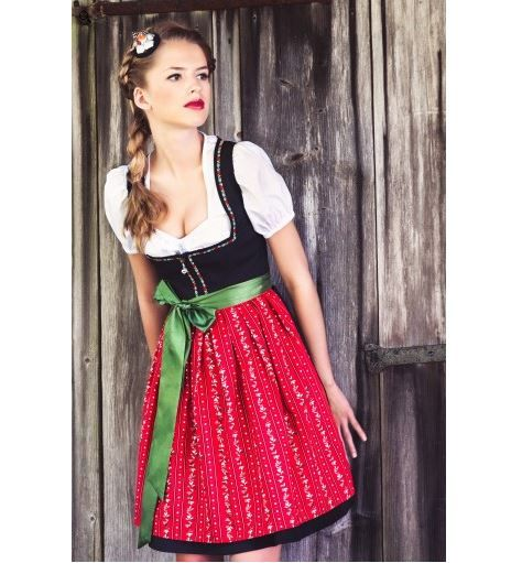 How about dressing up traditional German style with a Dirndl dress or leather pants