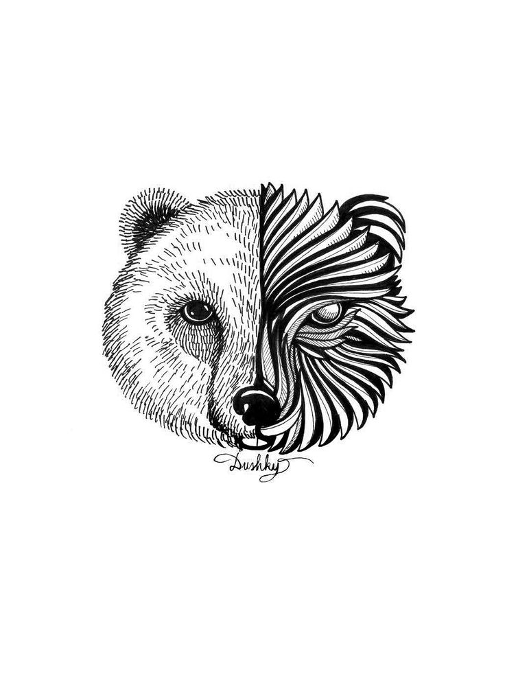 llustration by #dushky | #illustration #art #drawing #design #sticker #uman #umanshop #animal #logo
