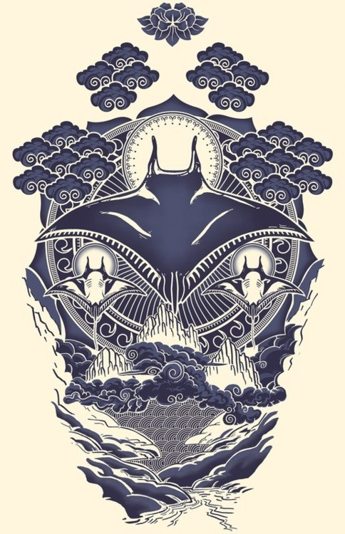 manta ray design