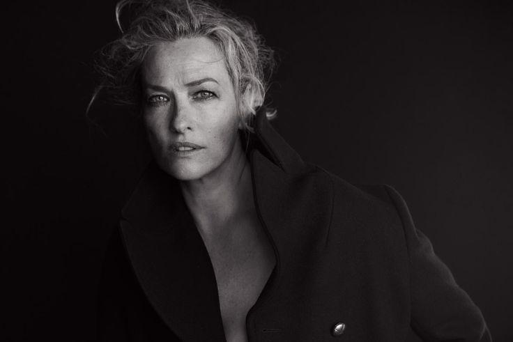 Tatjana Patitz. Photo: Peter Lindbergh for 'Vogue' Italia.